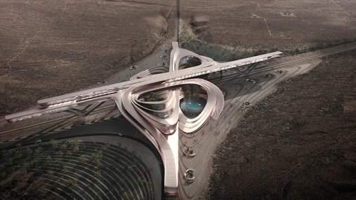 Інноваційний розвиток: як виглядає новий футуристичний кампус серед пустелі