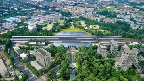 Станція майбутнього: у Китаї збудують надзвичайний лісовий вокзал