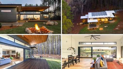 Нулевой расход энергии: самобытный дом в северной Каролине, который полностью питается от солнца