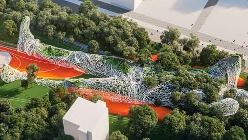 Изящное природное пространство: фантастический парк в центре Белграда