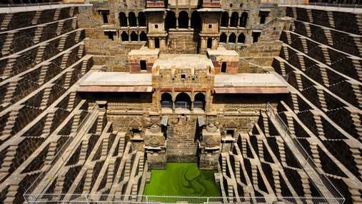 Чанд Баори в Индии: величественный колодец, из которого нельзя пить воду