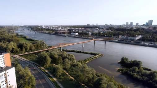 Один із найдовших мостів у світі: нова дивовижна інфраструктура у Польщі