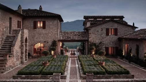 Сказочный вид и невероятные пейзажи: захватывающая реконструкция итальянского поместья 17 века