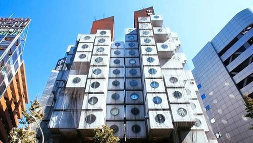 Капсульна вежа Накагін: чому незвичний будинок-конструктор в Токіо хотіли знищити