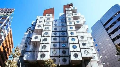 Капсульная башня Накагин: почему необычный дом-конструктор в Токио хотели уничтожить