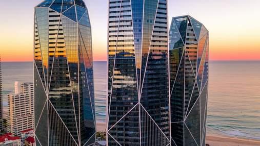 Хрустальные кварцевые башни: удивительный проект небоскребов в Австралии