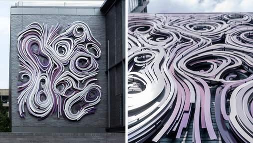 Художественная инсталляция: фото уникального фасада здания в штате Джорджия