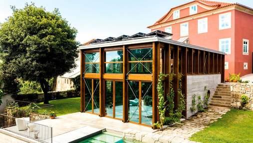 Возрождение из пепла: невероятная реконструкция резиденции в Португалии