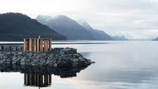 Єдність з природою: будиночки для насолоди морем у Норвегії