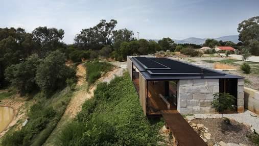 Жизнь в земле: вариант необычного частного дома в Австралии