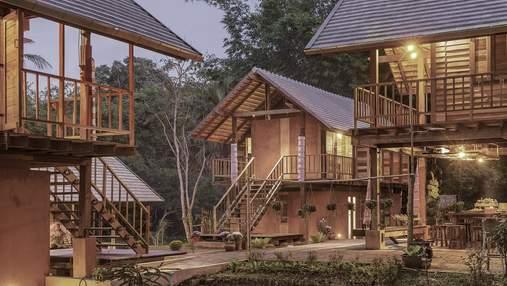 Збереження народного будівництва: вражаюче етнічне поселення в Таїланді
