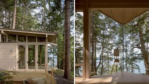 Дом художника: фото волшебной виллы в окружении зелени и воды