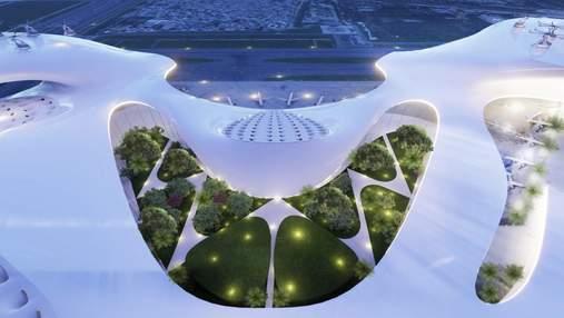 Как будет выглядеть будущее: перспективные концепции для аэропорта