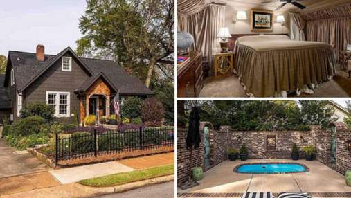 Дом графа Дракулы: в Алабаме продается дом со спальней, которая имеет вид гроба