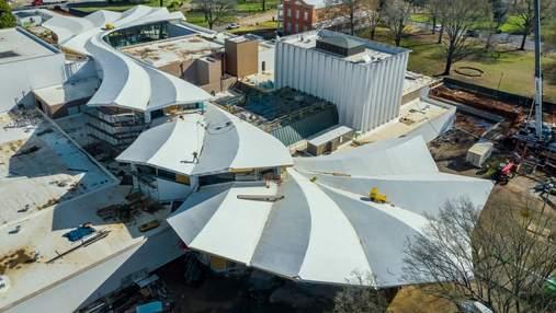 Крылья удивительной птицы: музей Арканзаса получит новую волшебную крышу и обновленный дизайн