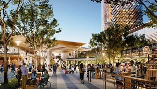 Захват від майбутнього: як виглядатиме оновлений залізничний вокзал у Сакраменто