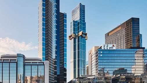 Перетянутый консольной звездой: проект самого высокого жилого небоскреба в южном полушарии