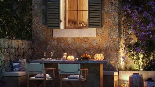 Гармонія тепла та сонячного світла: кам'яний таунхаус на Майорці надихає своїм дизайном