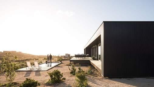 Приют среди пустыни: в Чили построили дом, который позволит насладиться спокойной жизнью