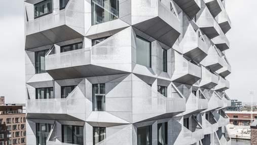 Постиндустриальное развитие: зернохранилище в Копенгагене трансформировали в невероятное здание
