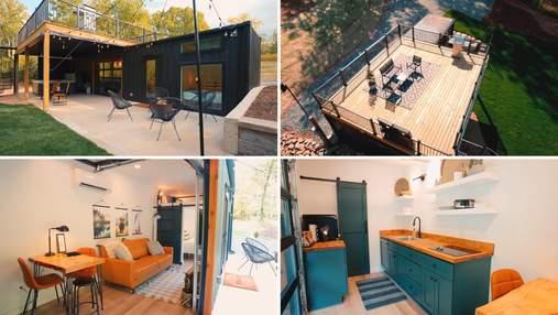 Збільшення житлового простору: як створити будинок з контейнерів із затишною палубою на даху