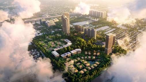 Ландшафт будущего: чрезвычайный проект лесного района в Бангкоке