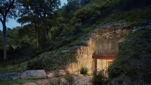 Уникальный винный погреб В США построили невероятное сооружение просто внутри горы