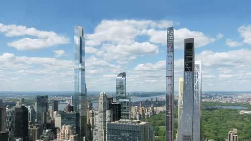 Прыжок в высоту: в Нью-Йорке Йорке завершается строительство небоскреба Central Park Tower
