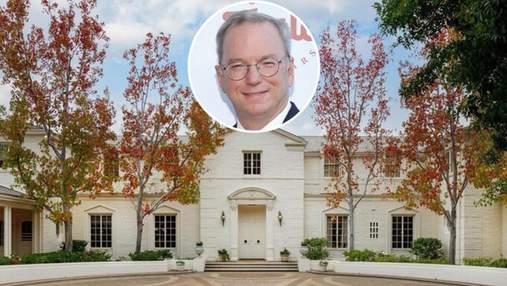 Примхи мільярдерів: вілла колишнього генерального директора Google за 61 мільйон доларів
