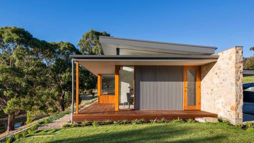 Гармонія каменю та дерева: будинок в Австралії, який чарує виглядом