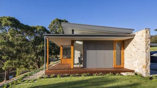 Гармония камня и дерева: дом в Австралии, который очаровывает видом