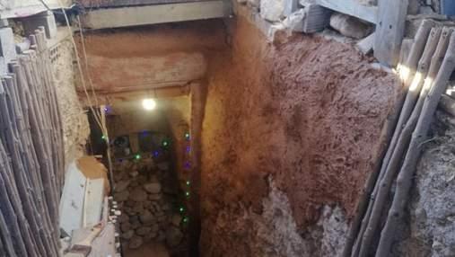 Підземний бункер: розлючений підліток викопав для себе особистий простір – відео