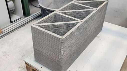 Вчені створили бетон зі сміттєвого скла, який можна використовувати у 3D-будівництві