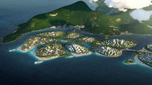 Как выглядит будущее: фото невероятного футуристического проекта в Малайзии