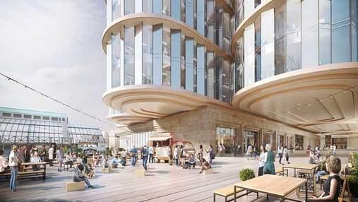 Культурная Мекка: как будет выглядеть новый театр в Лондоне