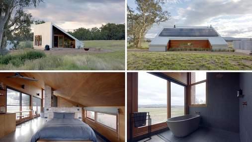 Провінційний відпочинок: крихітна хатина посеред ферми, яка вражає мінімалістичним затишком