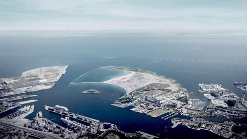 Життя на воді: у гавані Копенгагена планують звести штучний острів