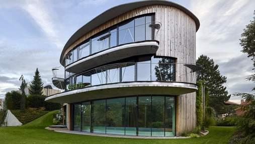 Удивительный овал: дом в лесу, о котором мечтает каждый