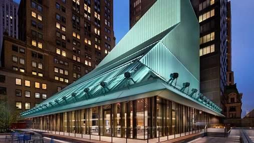 Магический портал в мир книг: в Нью-Йорке открыли новую библиотеку – как выглядит здание