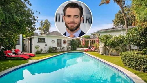 Пространство и уют: Крис Пайн приобрел роскошное бунгало в Калифорнии