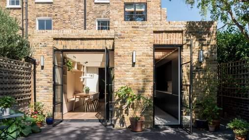 Замена содержания при сохранении формы: впечатляющее перевоплощение дома в Лондоне