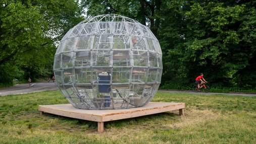Рослинна куля: інсталяція в Нью-Йорку, яка підкорила мешканців