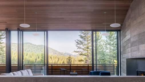 Роскошное убежище: невероятный дом рядом с горным хребтом в Калифорнии