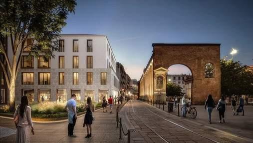 Життя в серці Мілана: новий житловий комплекс в столиці моди, який поважає історію