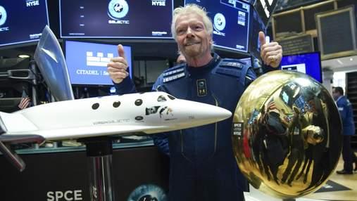 Исторический полет Ричарда Брэнсона в космос: сколько на этом заработала Virgin Galactic