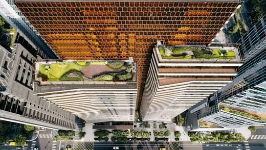 Терракотовый фасад и просторные квартиры: на Тайване построили современный жилой небоскреб