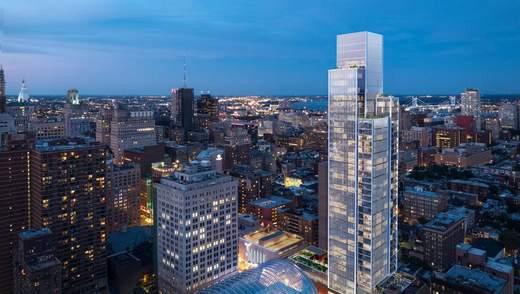 Лакшері з нотками мінімалізму: у Філадельфії завершується будівництво житлової вежі