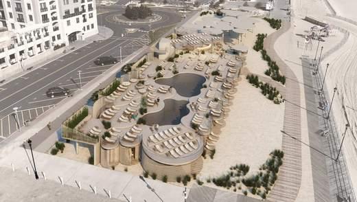 Лакшери из песка и дерева: новейший пляжный клуб в Нью-Джерси